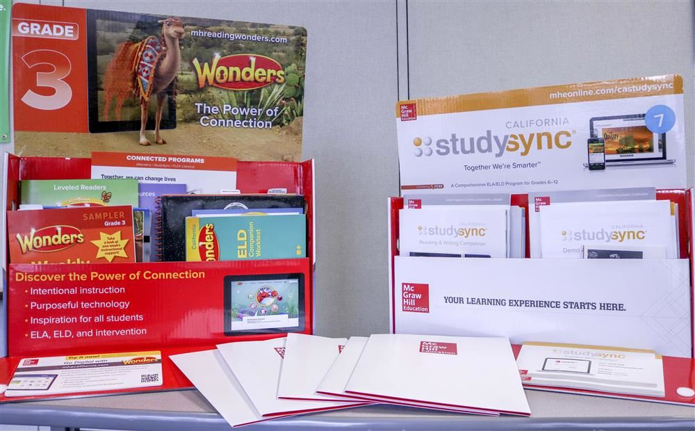 Wonders and Study Sync Materials for Preview