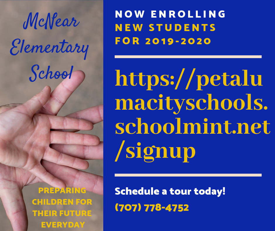 Now Enrolling for 2019-2020