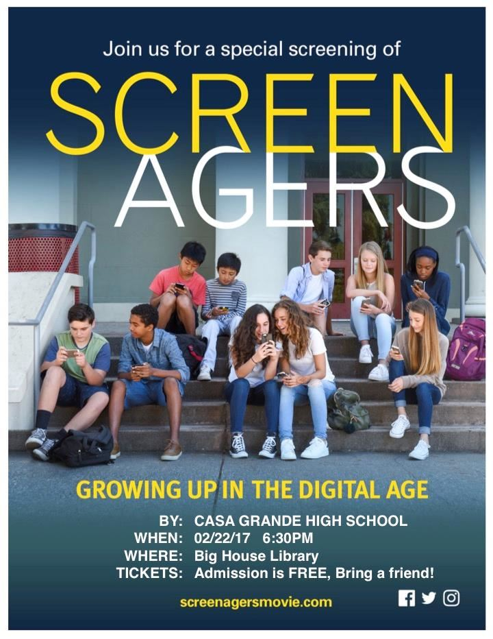 Screenagers Movie Flyer