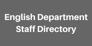 english department staff directory