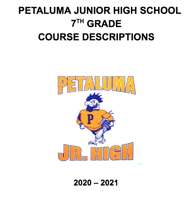 7th Grade Course Catalog