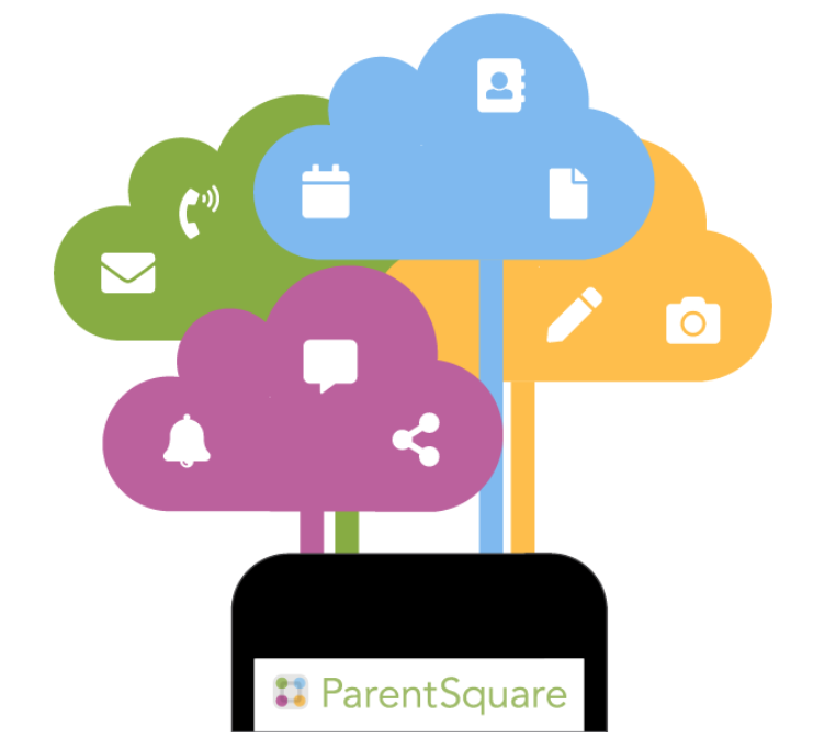 ParentSquare App on a phone.