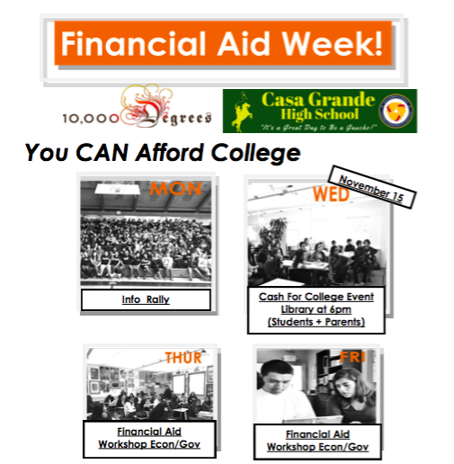 Financial Aid Week - 11/13 - 11/17