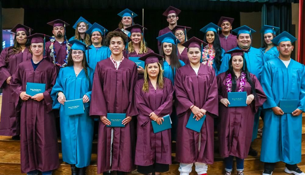 Petaluma Adult School June 2019 graduates