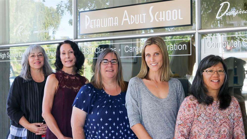 Petaluma Adult School Staff