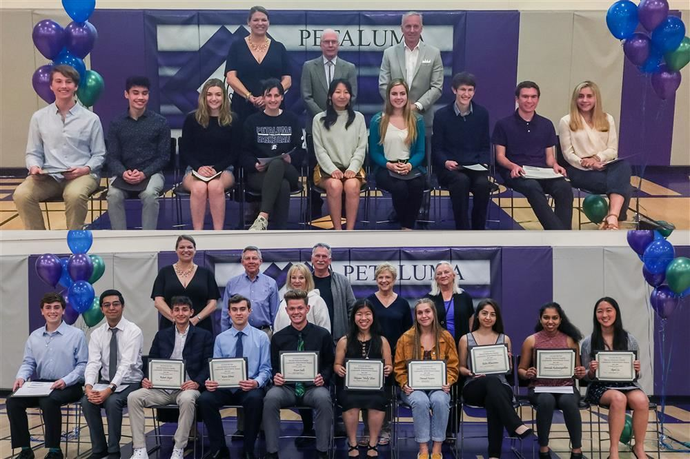 PHS and Casa Grande Community Achievement Awards students