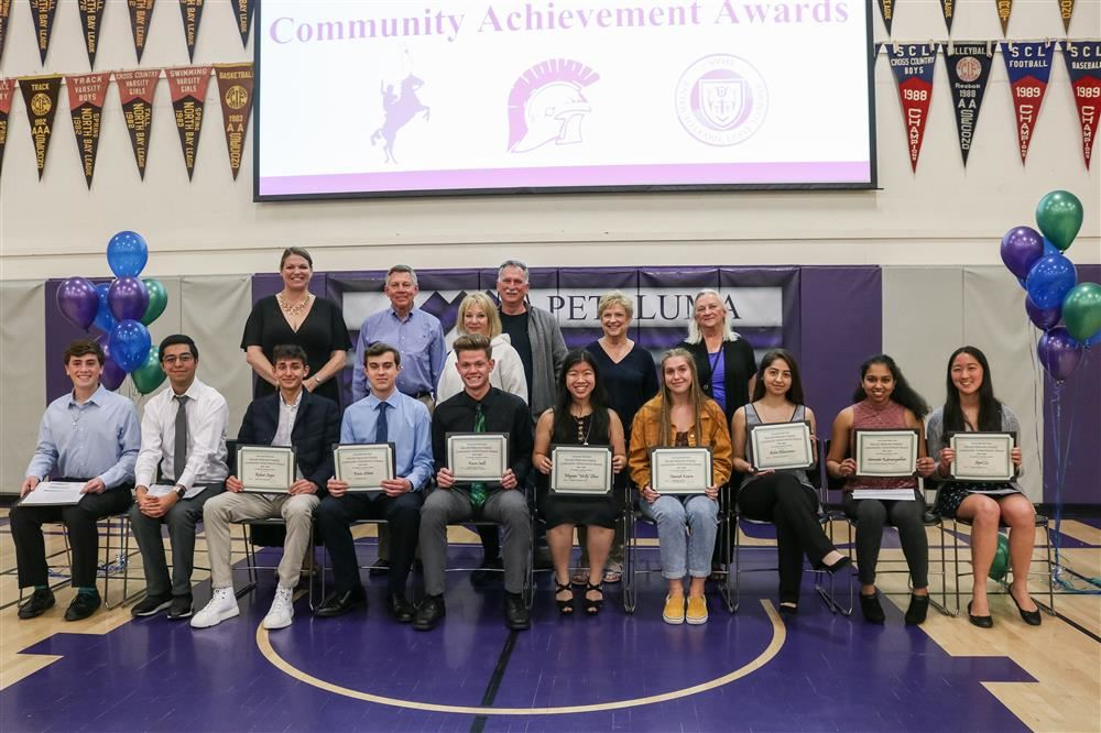 Casa Grande Seniors who received Community Achievement Awards