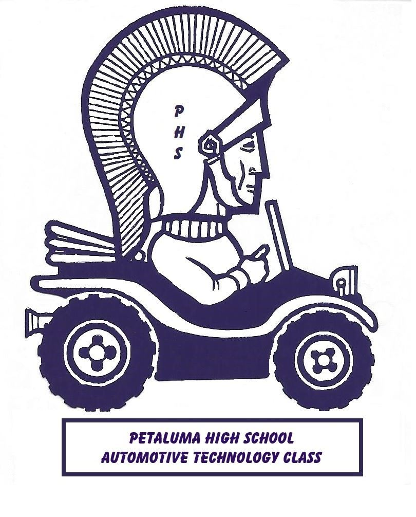 Petaluma High School Auto Technology Logo