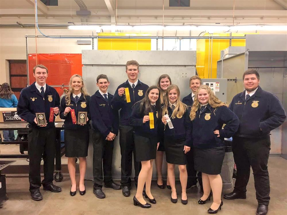 PHS FFA with awards