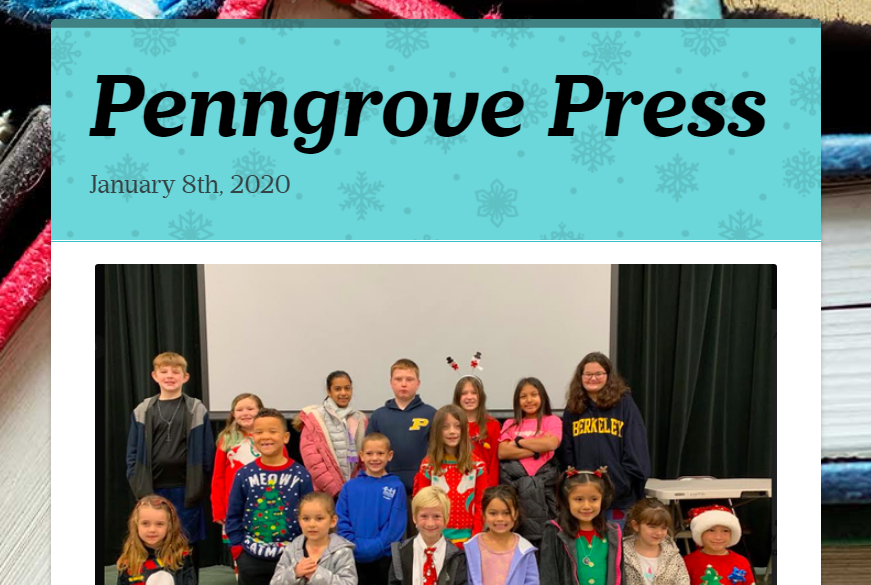 January 8, 2020 Newsletter