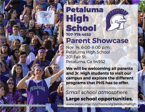 Parent Preview Night 11/14 - 6pm - 8pm
