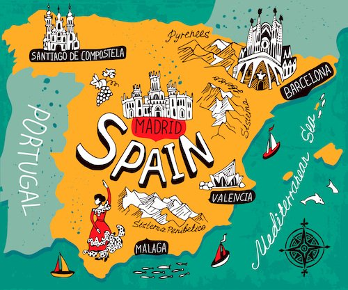 Would you like to travel to Spain and France?
