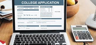 College application image