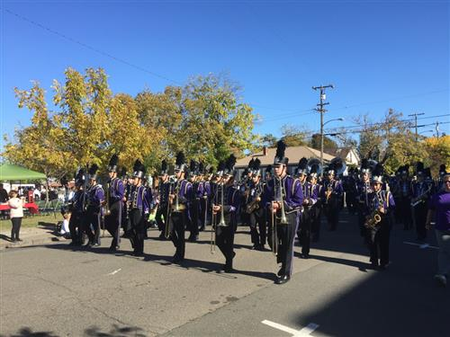 Petaluma High Marching Band